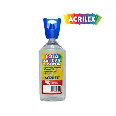 Cola para E.V.A e Isopor 90g Acrilex 17390