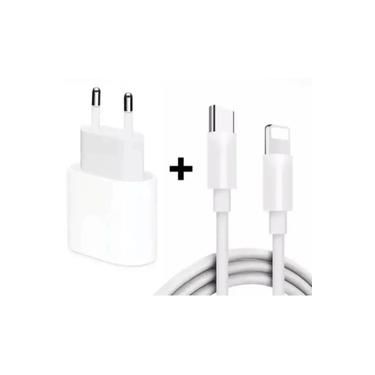 Carregador Completo IPHONE APPLE 12 /11/ X/ Xs Fonte 20w usb - c + Cabo lightning conexao original nova type C COM GARAN