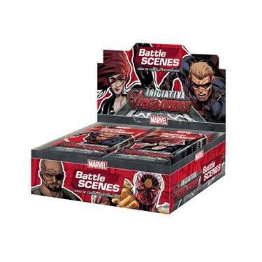 Box Booster Marvel Battle Scenes Iniciativa Vingadores Copag