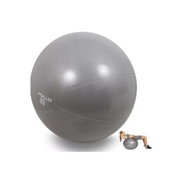 Bola 65cm Pilates Yoga Exercícios Ginástica Fisioterapia Suíça Vollo Anti Estouro c/ Bomba Até 300kg