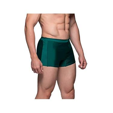 Sunga Boxer Masculina Moda Praia Cor:Verde;Tamanho:GG