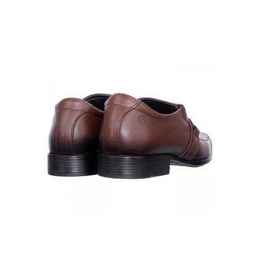 6c11e11539 Sapato Social Masculino Pegada Anilina Couro 22056-01