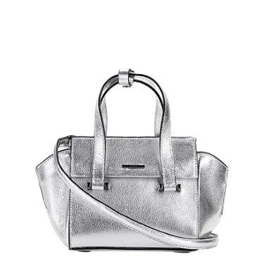 Bolsa Couro Carmim Mini Bag Metalizada Graziela Feminina - Feminino 048352c44b1
