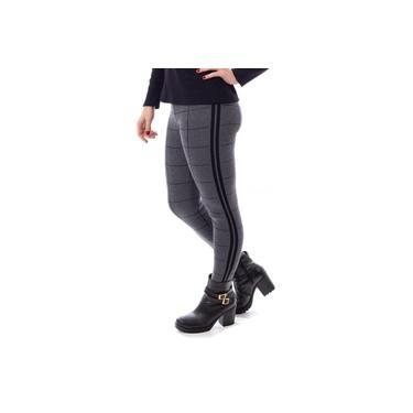 Imagem de Legging feminina de malha xadrez Sumaré 31165