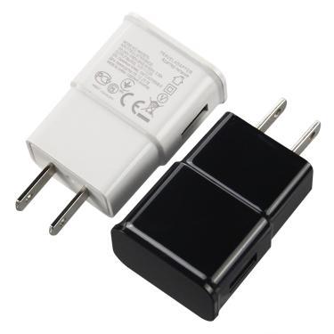 Alta Qualidade Para Samsung Galaxy i9500 S4 S6 S7 Carregador UE/EUA USB Carregador de Parede AC Plug