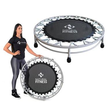 Cama Elástica Mini Jump Profissional Preto Natural Fitness