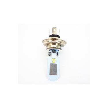 Lampada Moto H4 Super Led Efeito Xenon 6500k 35w Cg Ybr Cb