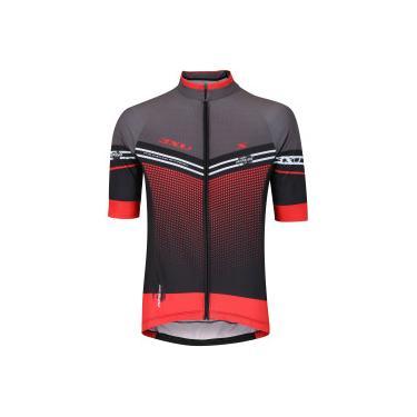 c471fe87c Camisa de Ciclismo Refactor Hurricane - Masculina - Vermelho/Preto Refactor