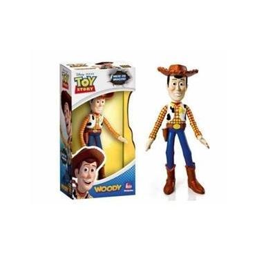 Woody Boneco De Vinil Lider Brinquedo Toy Story