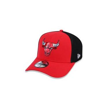 Bone 39Thirty Chicago Bulls Nba Aba Curva Vermelho New Era