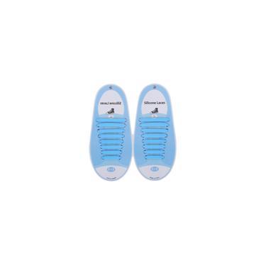 Sapato de renda de silicone criativo sem lavagem laço de sapato elástico casual elástico