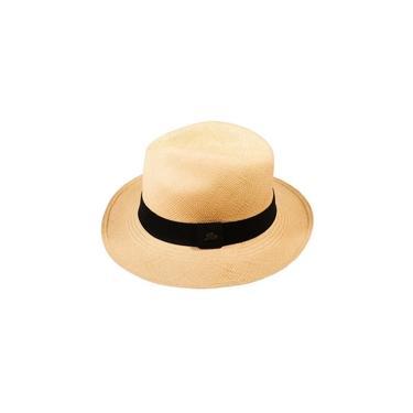 Chapéu Panamá Clássico Semi Fino Tabaco M