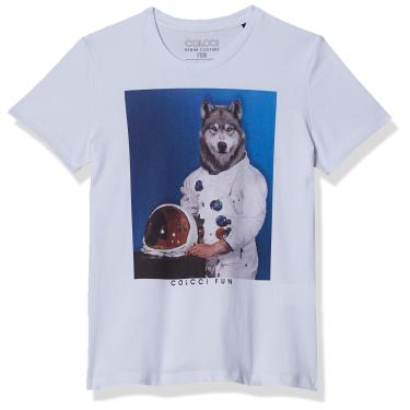 Camiseta Estampada Colcci Fun, Meninos, Amarelo Valfes, 12