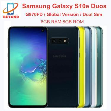 Imagem de Samsung galaxy s10e duos g970fd 6gb ram 128gb rom sim duplo versão global exynos octa núcleo 5.8