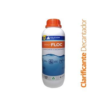 Imagem de Clarificante Floculante Decantador Tripla Ação Para Limpeza De Piscina 1L Oirad