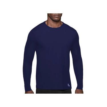 Imagem de Camiseta Repelente UV, Lupo, Masculino, Marinho, P