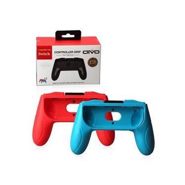 Par de Suporte Grip De Mão Para Controle Joy-Con Para Nintendo Switch