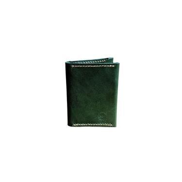 Carteira Em Couro Bifold Vertical - Andaman N5 - Verde