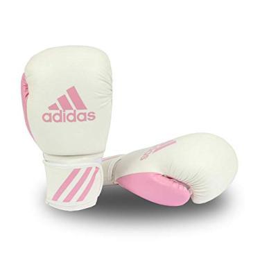 b38a095cc Luva de Boxe Adidas Response Branco Rosa 12 Oz
