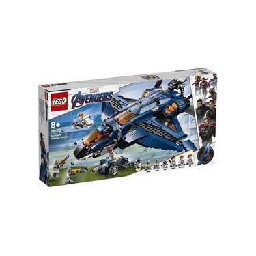 Lego Marvel Super Heroes - Quinjet Dos Vingadores 76126