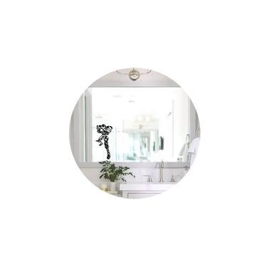Adesivo Espelho Box Vidro Banheiro Samus Metroid Canhão