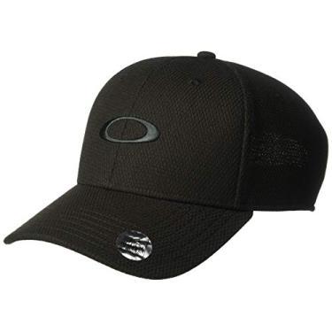 Boné Eclipse Hat Jet Black Oakley Cor:Preto;Tamanho :Único