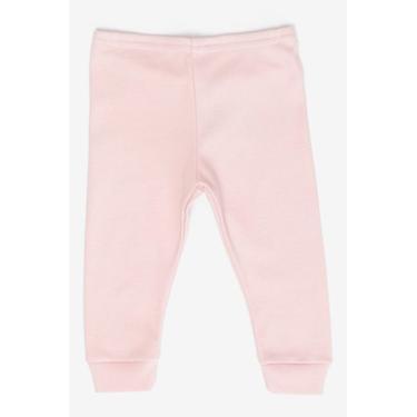 Calça Infantil Malha Rosa Marisol