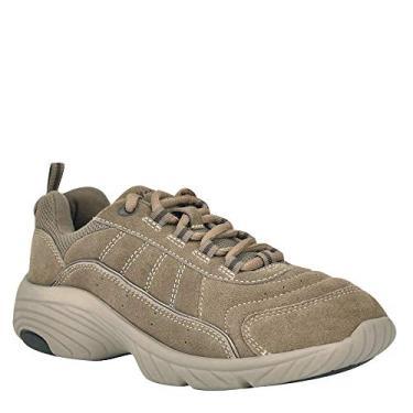 Easy Spirit sapato esportivo feminino, Taupe, 6 Wide
