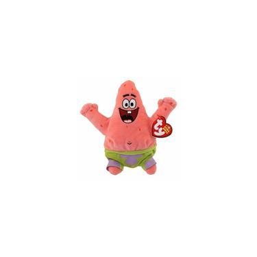 Imagem de Beanie Babies Patrick - Turma Do Bob Esponja Pelucia 15cm Dtc