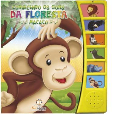 Imagem de Conhecendo Os Sons Da Floresta - Macaco - Blu Editora - Dwinguler