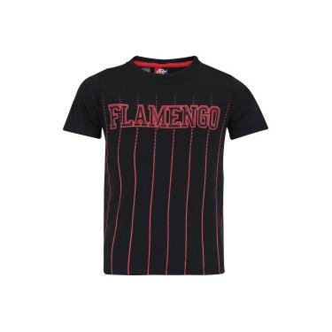 Camiseta do Flamengo Intus - Infantil - PRETO Braziline 82aa9d1bd2422