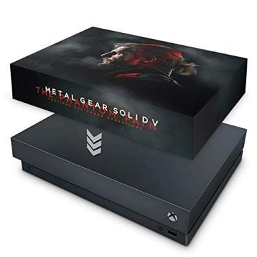 Capa Anti Poeira para Xbox One X - Metal Gear Solid 5: The Phantom Pain
