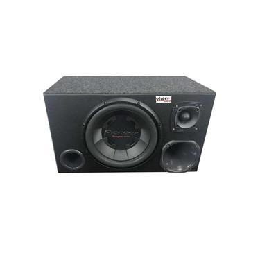 Caixa Trio Sub Pioneer Ts-W300 400WRMS 12 Pol + Driver + Tweeter