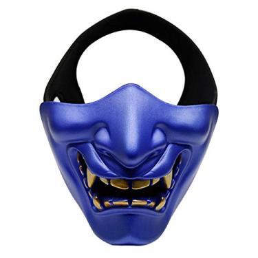 Imagem de Shijie JIESHI Máscara de meia face Airsoft Paintball Militar Caça Horror Crânio Halloween Fantasia Decoração de Natal