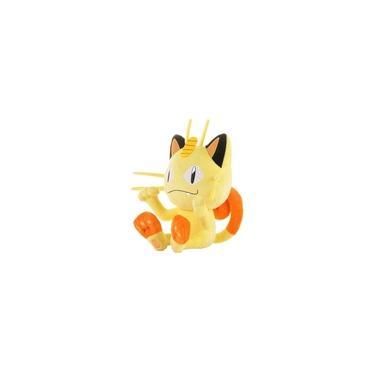 Imagem de Meowth Pokémon De Pelúcia 25 Cm Pronta Entrega Gato Miau