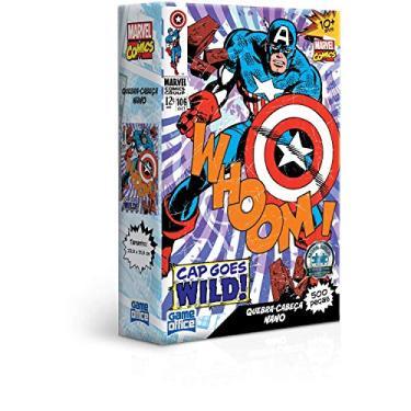 Imagem de Marvel Comics - Capitão América - Quebra-cabeça - 500 peças nano