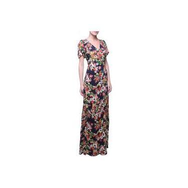 Vestido Flor Longo Floral