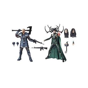 Bonecos Legends Series Marvel 80 Anos - Skurge / Marvel`s Hela - Thor Ragnarok