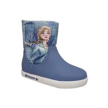 Bota Infantil Disney Frozen Grendene Style Azul