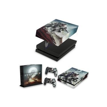 Capa Anti Poeira e Skin para PS4 Fat - Destiny 2