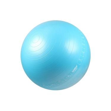 Bola Suíça com Ilustrações de Exercícios para Pilates 65 CM - LIVEUP LS3577