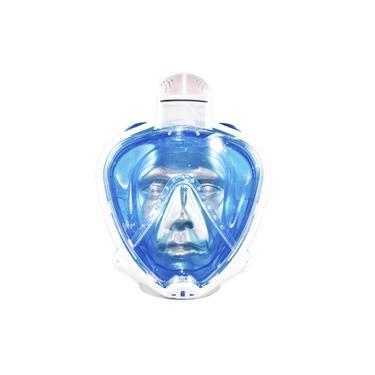 Máscara Fullface Odyssey Mormaii - Branco/azul