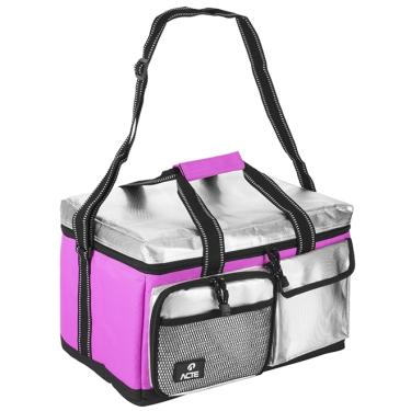 Bolsa Térmica Lunch Box Cau Saad Rosa - Acte Sports - M