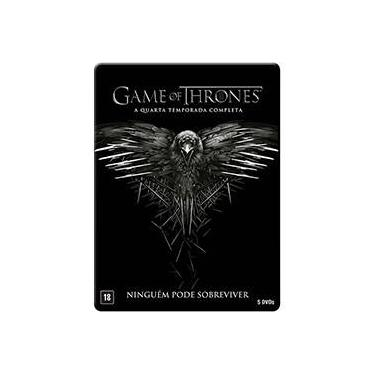 DVD - Game Of Thrones: A Quarta Temporada Completa (5 Discos)