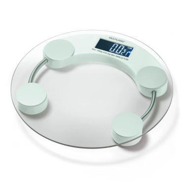 Balança Digital Eatsmart LCD Multilaser Branca - HC039 HC039