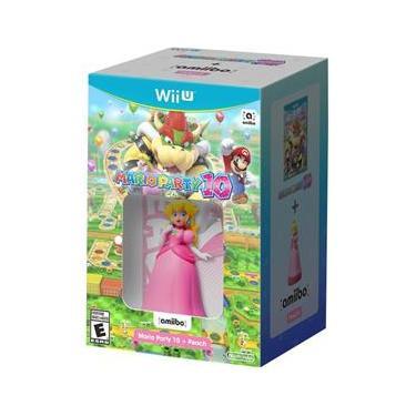 Mario Party 10 + Amiibo Peach - Wii U