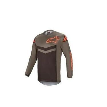 Camisa Fluid Speed 21 Cinza Laranja