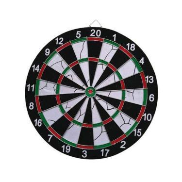 Jogo de Dardos Atrio com Alvo de 42cm de Diâmetro + 6 Dardos - ES170