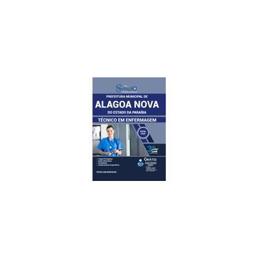 Imagem de Apostila Pref de Alagoa Nova PB 2020 Técnico em Enfermagem