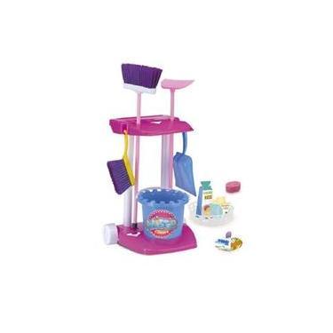 Imagem de Brinquedo Kit De Limpeza Infantil Master Clean Monte Líbano